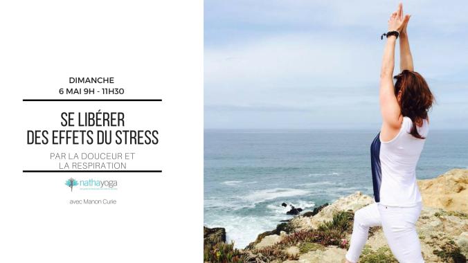 Se libérer du stress bleu yoga